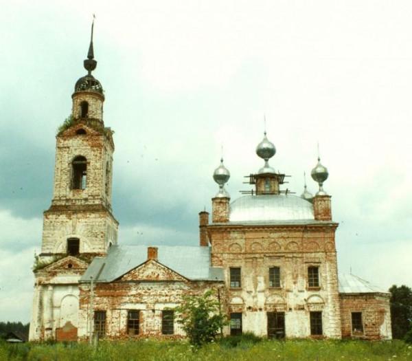 Храм Илии Пророка в селе Ильинское Селивановского района Владимирской области