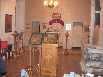 Храм Илии Пророка в селе Ильинское Селивановского района Владимирской области боговой придел