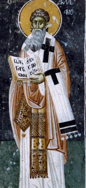Святитель Флавиан I Антиохийский,  архиепископ Антиохийский