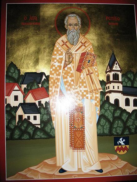 Святитель Ремигий, епископ Реймса