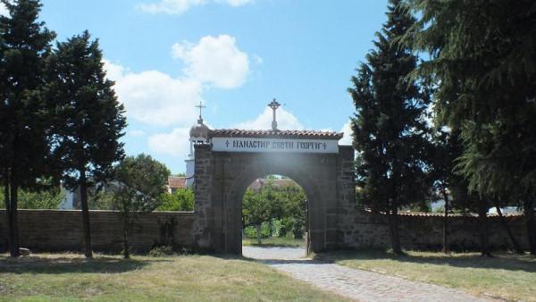 монастырь св. Георгия Поморие 1