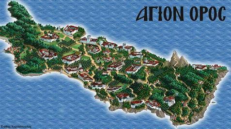 святая гора Афон