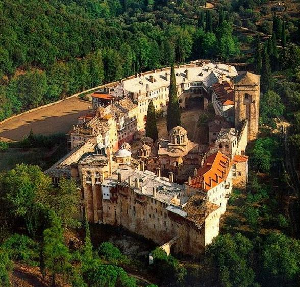 Сербский Монастырь Хиландар, Афон