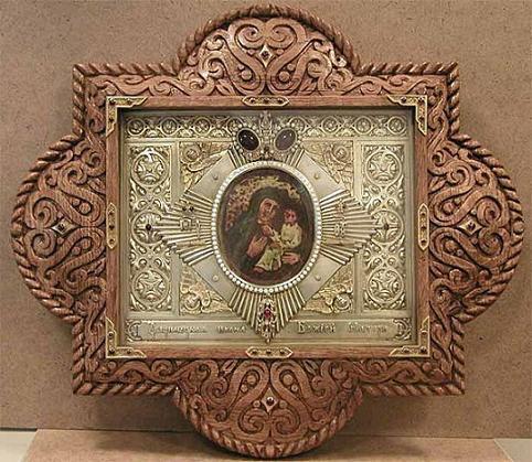 икона БогоМатери «ЗВЕРИНЕЦКАЯ»