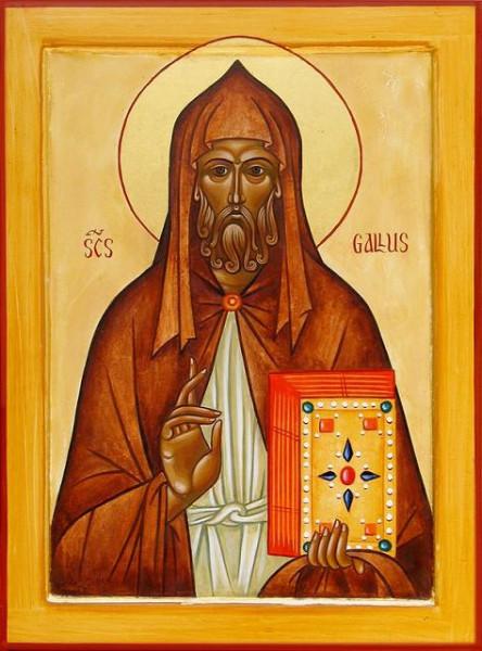 Преподобный Галл Ирландский