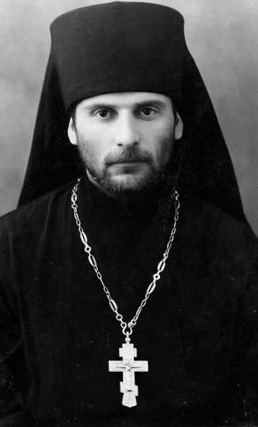 Преподобноисповедник Гавриил (Ургебадзе) в молодости