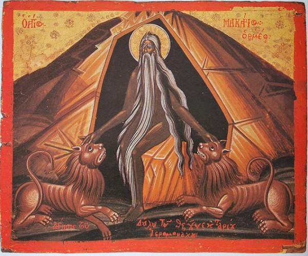 преподобный Макарий Римлянин, Месопотамский