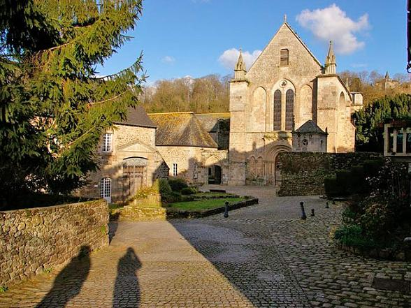 Монастырь святого Маглория (Abbaye Saint-Magloire de Léhon)