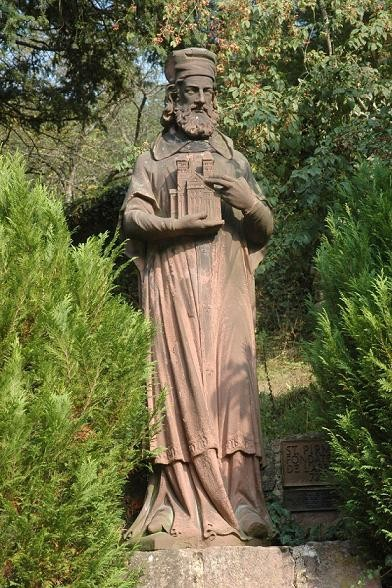 Saint Pirmin at Murbach Abbey