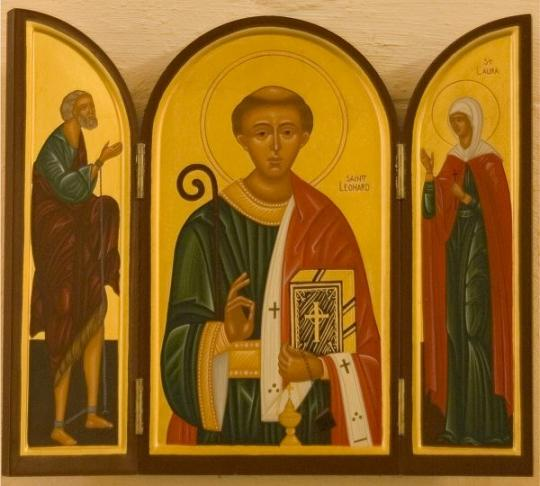 Преподобный Леонард Ноблакский , отшельник