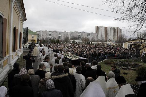 похороны о. Даниила Сысоева