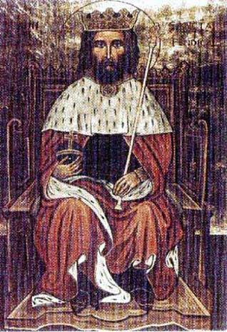 Святой царь Кадваладр (Cadwaladr)