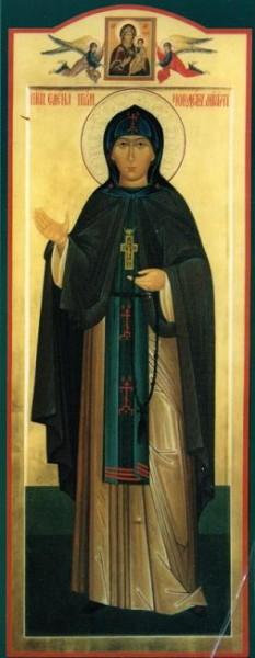Преподобная Елена Девочкина - первая настоятельница Новодевичьего монастыря