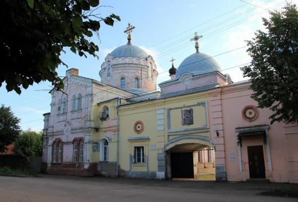 Христорождественский монастырь - Слободской - Слободской район - Кировская область в наши дни восстанавливается