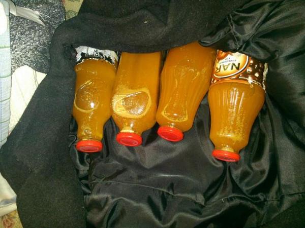 сок бутылки
