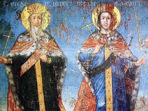 святые деспоты Стефан и Иоанн Бранковичи