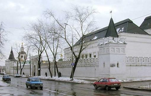 Свято-Данилов монастырь в Москве