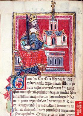 Преподобный Оффа Эссекский, король Эссекса