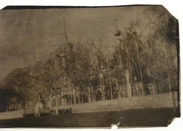 Николаевская церковь села Кыласово Кунгурского уезда, фото конца XIX века