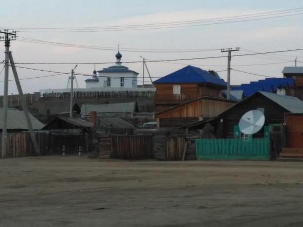 о. Байкал, остров Ольхон, храм иконы Божьей Матери Державная