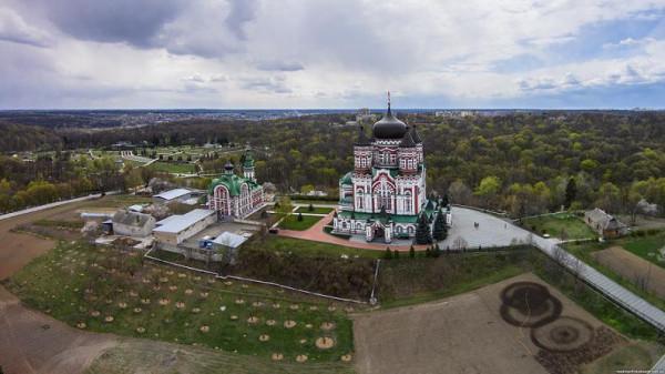 Свято-Пантелеимоновский женский монастырь (пустынь «Феофания»)