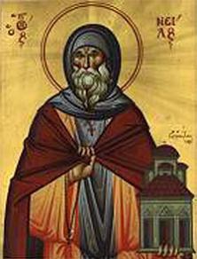 Преподобный Нил Освященный, Ирикийский