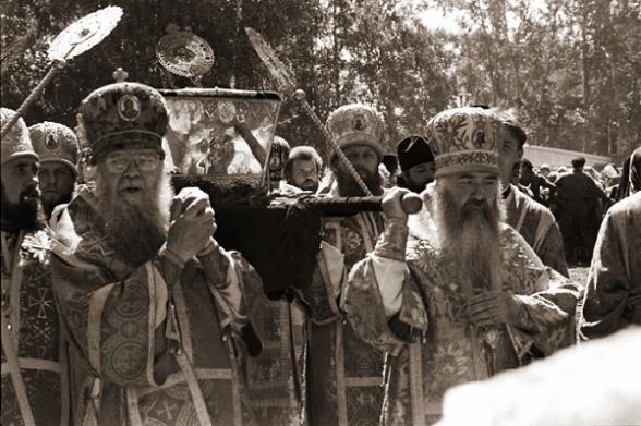 ПЕРЕНЕСЕНИЕ МОЩЕЙ ПРП. СЕРАФИМА САРОВСКОГО, 1991 ГОД