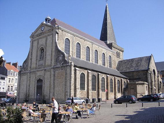 Церковь святого Николая, Булонь-сюр-Мер, Нор-па-де-Кале, Франция