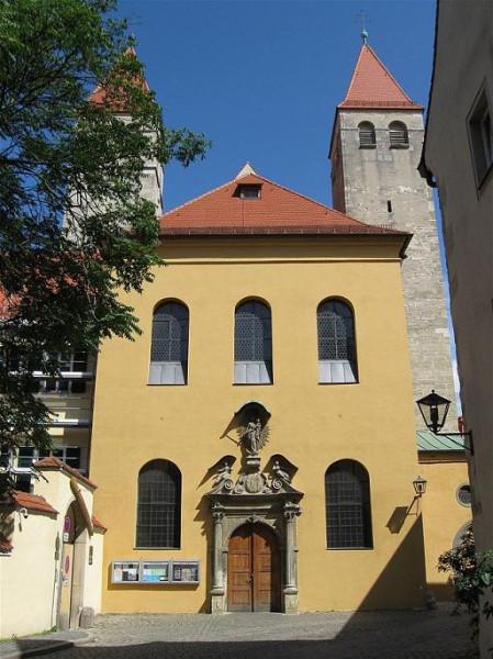 Нидермюнстерская церковь кафедрального собора в Регенсбурге
