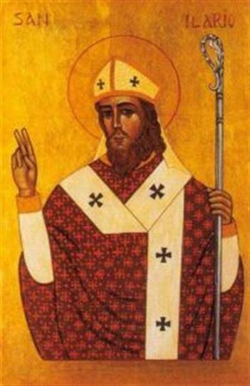 Святитель Иларий (лат. Hilarius Pictaviensis), епископ Пиктавийский