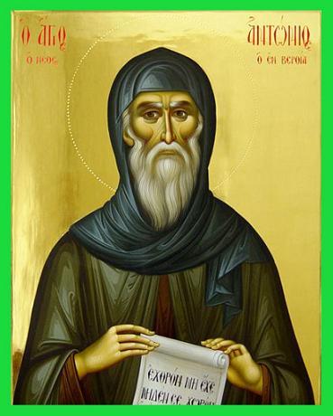 Преподобный Антоний Новый, Верийский, чудотворец