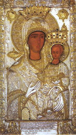 Икона Богородицы «Одигитрия» Ксенофская
