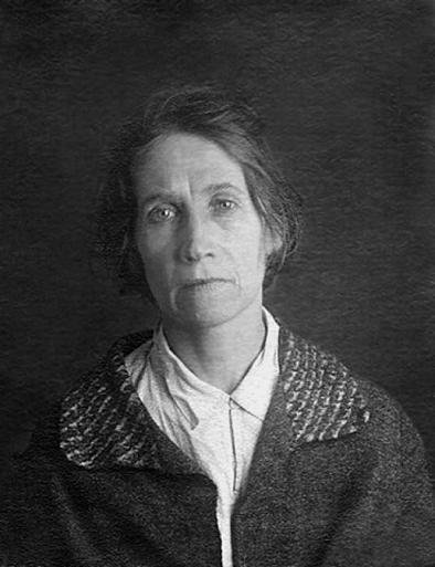 Послушница Екатерина Черкасова. Москва. Бутырская тюрьма. 1938 год