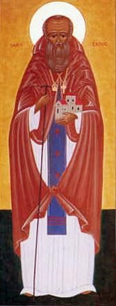 Преподобномученик Кадок Лланкарванский, Валлийский