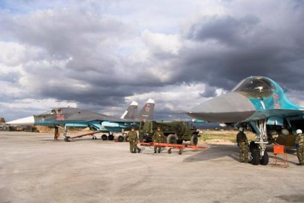 Военный аэродром Хмеймим, Сирия