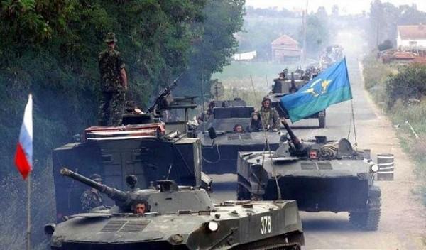 Марш-бросок российских десантников в Приштину в июне 1999 года