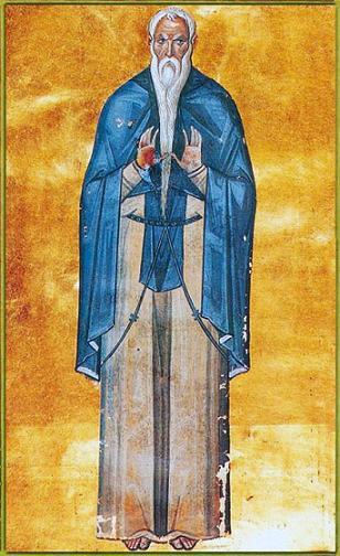 Преподобный Петр Моноватийский (Моновакийский) (Ὅσιος Πέτρος ὁ ἐν Μονοβάτοις)