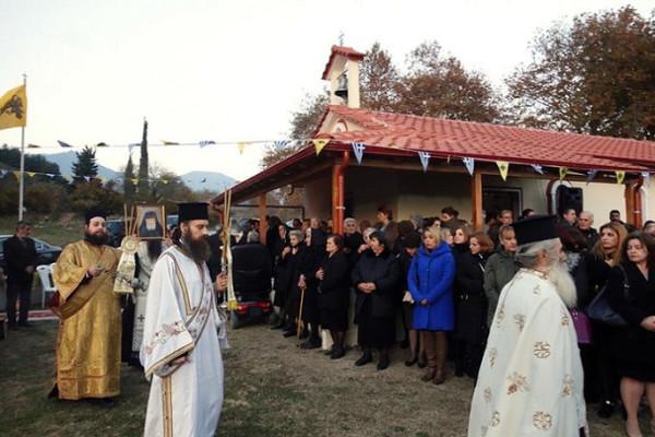 Новый храм Паисия Святогорца в Греции