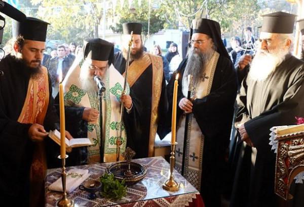 Новый храм Паисия Святогорца в Греции 2