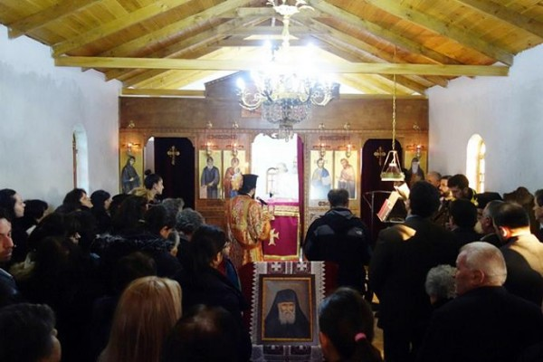 Новый храм Паисия Святогорца в Греции 3
