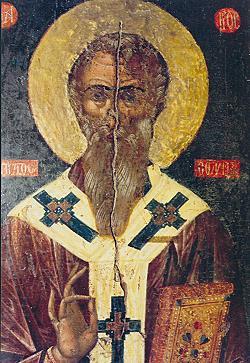 Преподобный Аристон Арсинойский, епископ Арсинойский