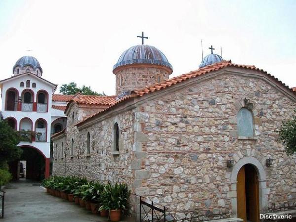 Латомский монастырь, Салоники, Греция, храм св. Давида
