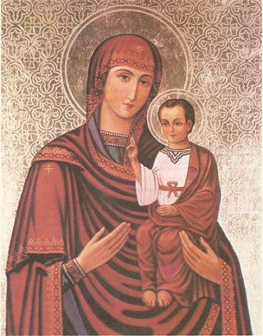 Теребовлянская икона Божией Матери