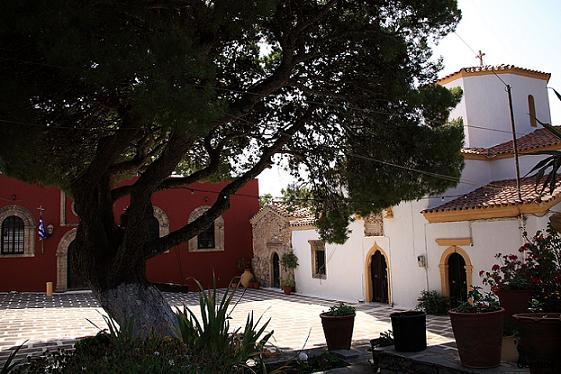 Монастырь св. Феодора на Китире, Греция