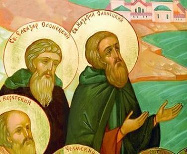 Преподобные Елеазар и Назарий Олонецкие