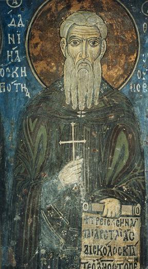 Преподобный Даниил Скитской
