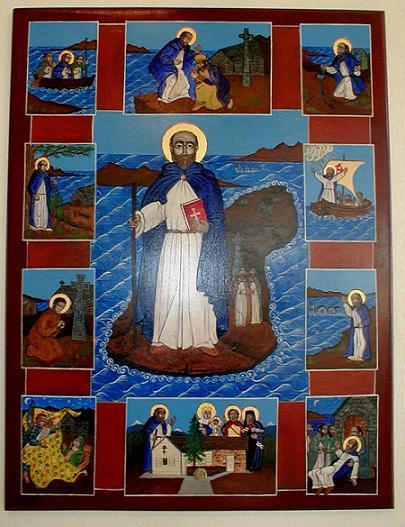 Преподобный Колумба Ионский, апостол Шотландии