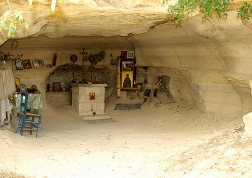 Кипр. Васа Киланийская. Пещера преподобного Варнавы