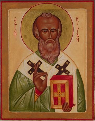 Килиан Вюрцбургский (Kilian), епископ в Восточной Франконии и Тюрингии