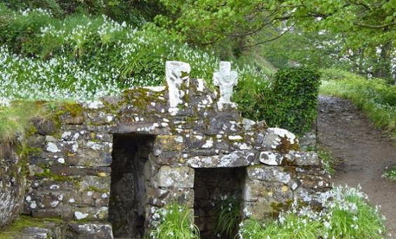 Ардмор, Ирландия, место, где в V веке подвизался преподобный Деклан